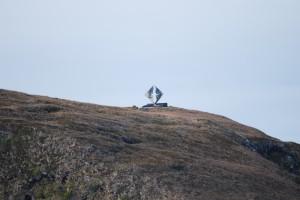 Cape Horn, minnes monument över alla förlista