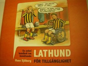 """En enkel handbok om bemötande """"LATHUND för tillgänglighet"""""""