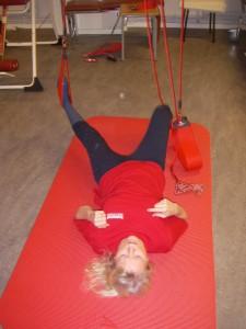 Redcord-övning 2