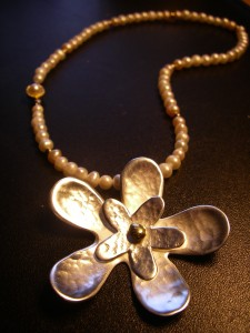 Egentillverkat silversmycke