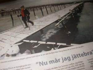 Artikel i Göteborgsposten 2006.01.15