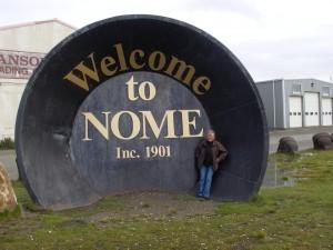Världens största vaskpanna i Nome - Alaska