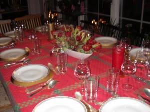 Stora middagar  var mammas stora intresse