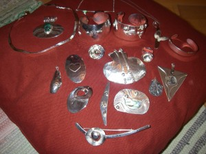 Egna silverarbeten