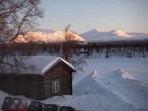 Utsikt från rimsfönstret