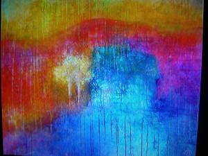 Målning av Ania Witwitzka