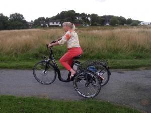 Trehjuling klarar man med dålig balans