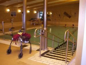 I simhallen i Vejbystrand sept 2011