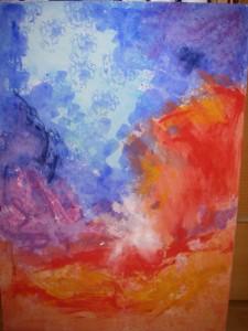 Egen VedicArt - målning