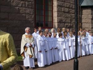 Konfirmation i Öckerös kyrka