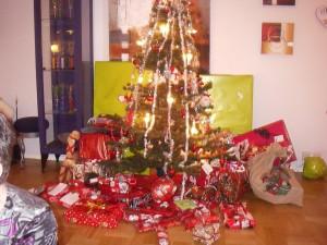 Julklapparna är inhandlade och ligger på plat