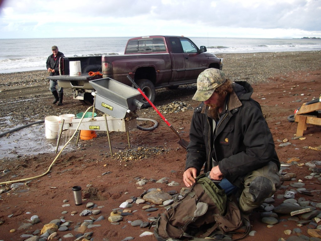 Guldgrävare2007på stranden