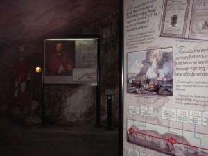 I tunnlarna i Gibraltar