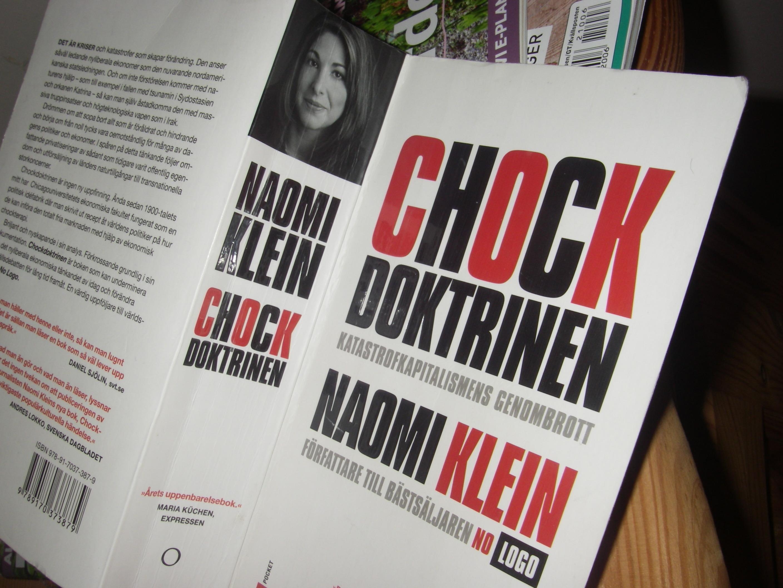 CChockdoktrinen av Naoni Klein