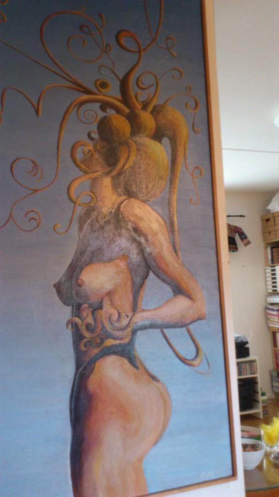 En av min väninnas målningar