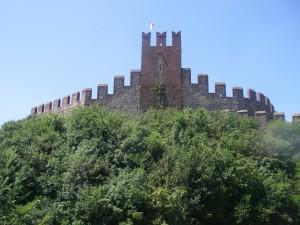 Rocca Scaligera, det gamla slottet i Soave