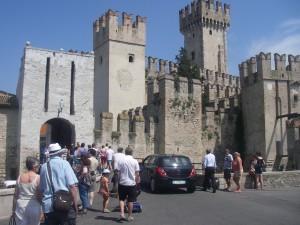 Slottet Rocca Scagligera i Sirmione