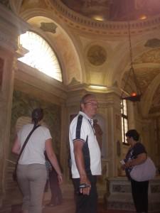 Inne i Sant Antoniobasilican i Padua