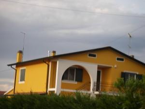 Typiskt hus i Veneto