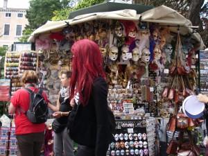Venetianska maskeradmasker