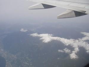 Flyg över Dolemiterna