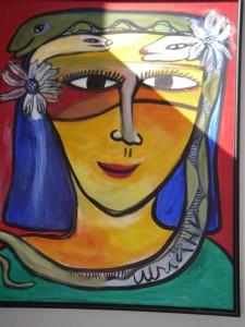 Målning av Ulrika Hydman Wallien