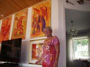 Vedic Art-målningar