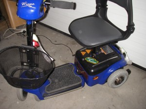 Min lilla trehjuliga elmoppe
