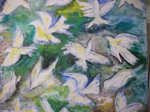 Flyttfåglarna i rörelse inför vintern