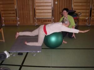 Sjukgymnastik med Birgit