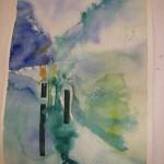 Dalgång akvarell 70×50 cm Pris: 500:-