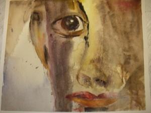 En av mina akvareller från Gerlesborg