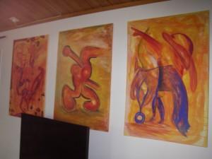 Vedic Art- målningarna