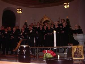 Laudatekören i Strömstads kyrka