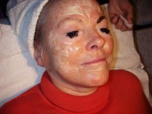 Marielles ansiktsbehandling