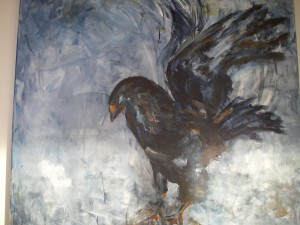 Eagle  akryl  Pris: 4.000:-