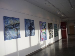 Utställning i Kulturhuset Vingen, Amhult, Torslanda t.o.m den 29 mars 2014