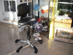 Den nya arbetsstolen