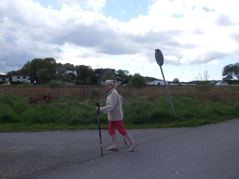 På promenad med pumpstavarna