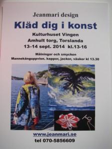 Inbjudan till utställningen