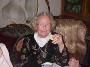 Mamma som pigg 94-åring