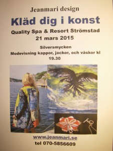 Modevisning på Spa-hotellet i Strömstad