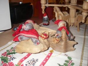 Julpyntet plockas bort