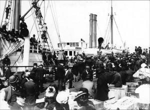 Alla ville med båten från Seattle