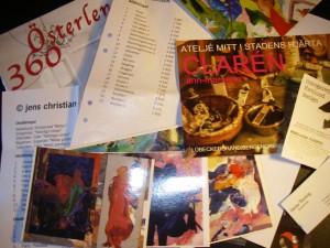 Ett axplock av alla besökta konstnärer