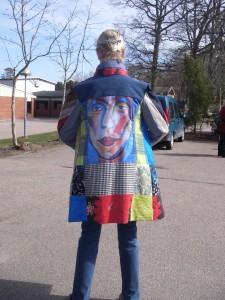 """""""Turistchefen"""" på språng med sin nya kappa"""