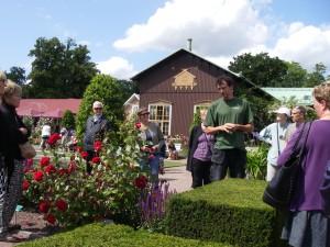 Rosenföredrag i Trädgårdsföreningen