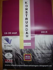 Konstrundan Västra Hisingen 18-19 september 2015