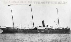 MS Norge, Hilma åkte i klass två 1896