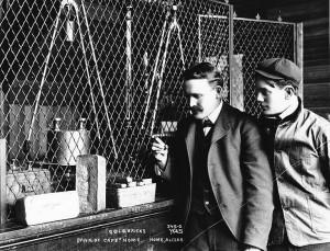 Guldtackor i banken Nome 1900